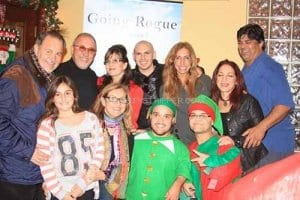 christmas party elves santa party