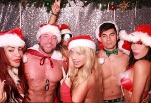 sexy santa strippers