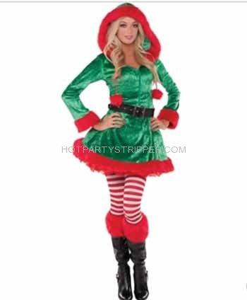 elf santa christmas party